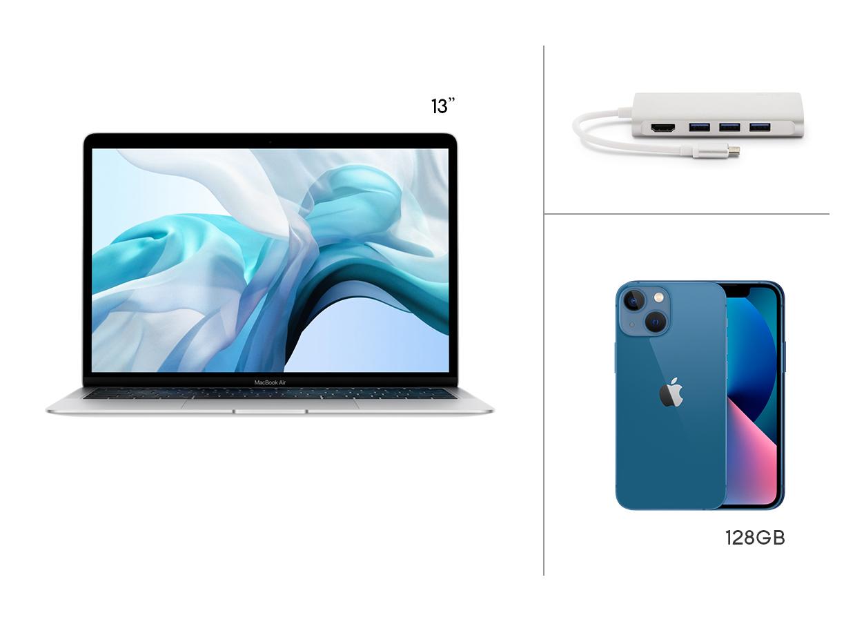 Noleggio operativo Macbook Air e iPhone 13 mini