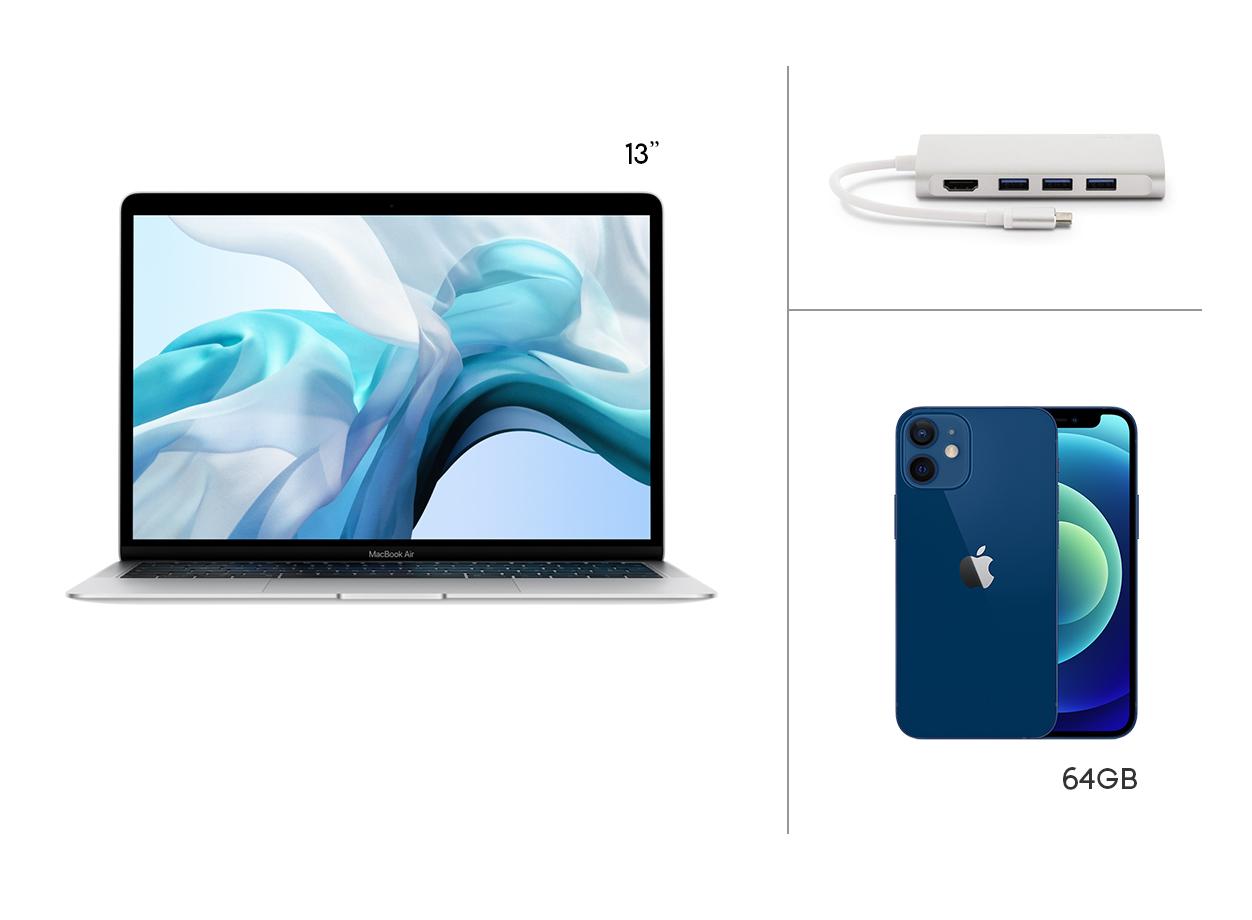 Noleggio operativo Macbook Air e iPhone 12 mini